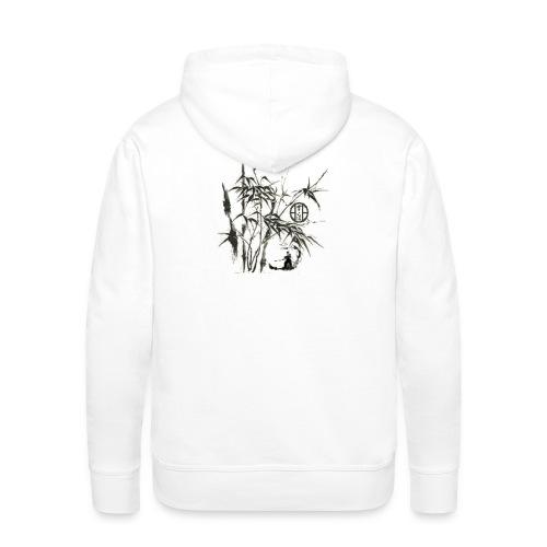 bambou5 GIF - Sweat-shirt à capuche Premium pour hommes