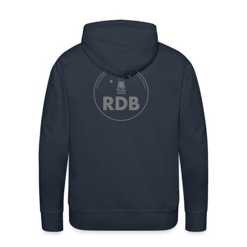 logo RDB - Sweat-shirt à capuche Premium pour hommes