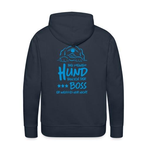 boss hund - Männer Premium Hoodie