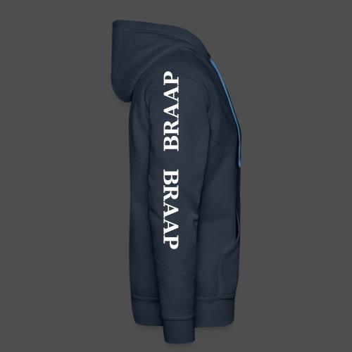 braap braap 0BR04 W - Men's Premium Hoodie