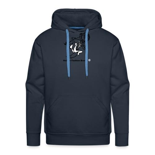 Hollow Fashion Brand i® - Men's Premium Hoodie