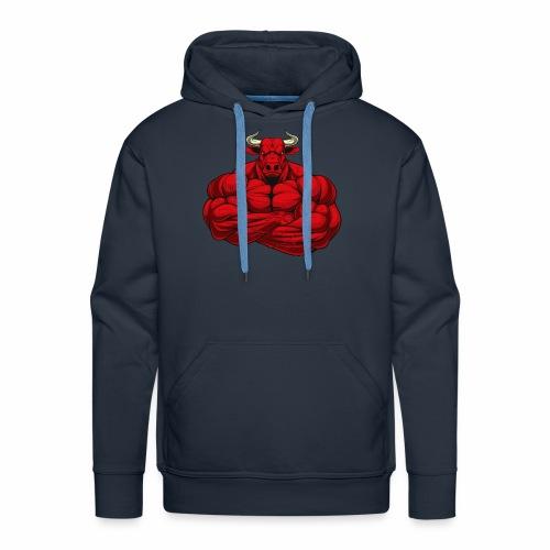 Méchant Bull - Sweat-shirt à capuche Premium pour hommes