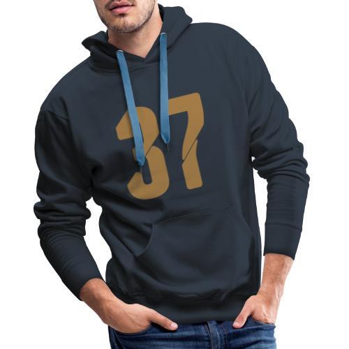 37, Nummern, Zahlen, Pelibol ™ - Männer Premium Hoodie