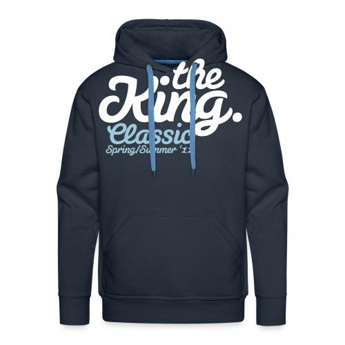 the king classic - Bluza męska Premium z kapturem
