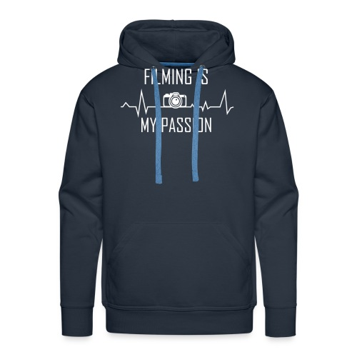 filming is my passion Merchandise by SPDY - Männer Premium Hoodie