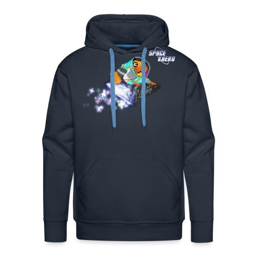 SpaceKaeru - Crapal - Sweat-shirt à capuche Premium pour hommes