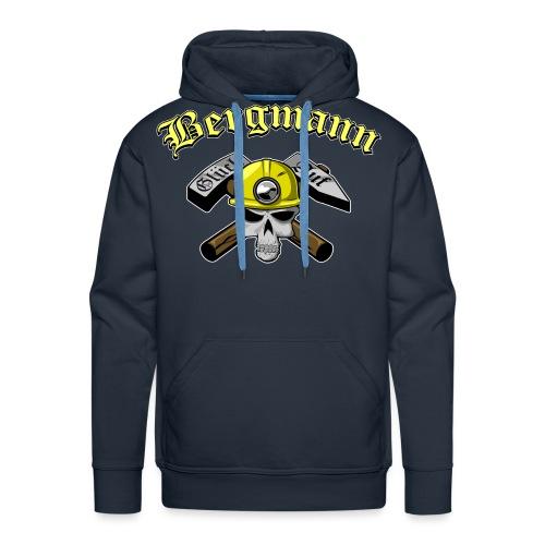 Miner-skull - Männer Premium Hoodie