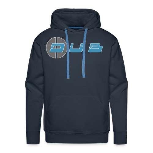 Dub Geometry Simple Blue - Männer Premium Hoodie