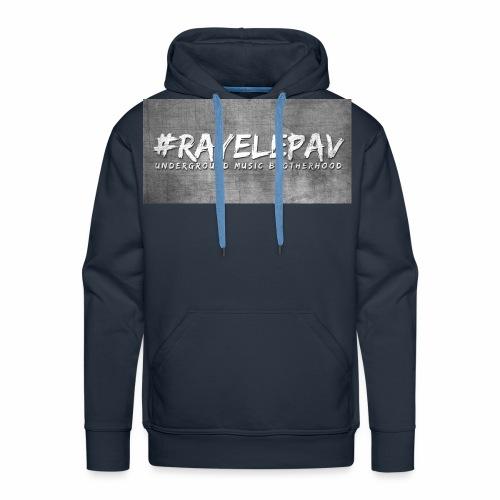 RAYELEPAV GROS MUSIC jpg - Sweat-shirt à capuche Premium pour hommes