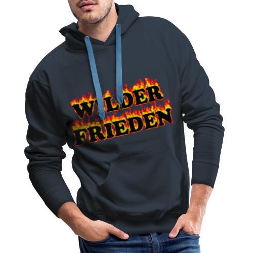 Wilder Frieden Feuer - Männer Premium Hoodie