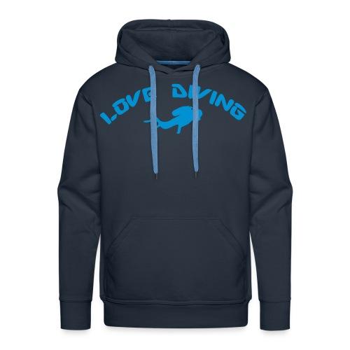 love diving - Männer Premium Hoodie