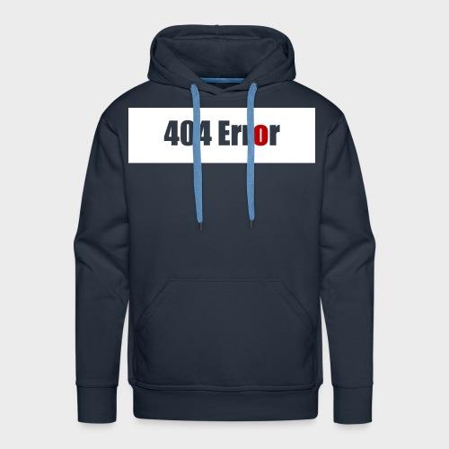 404 Error - Männer Premium Hoodie