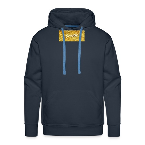 Scripted. Box Logo - Men's Premium Hoodie