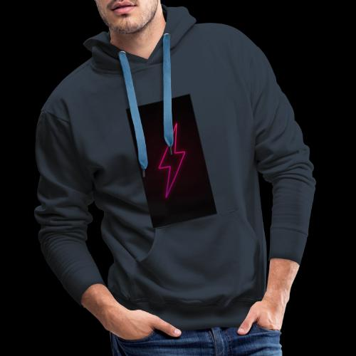 neon lighting copy - Men's Premium Hoodie