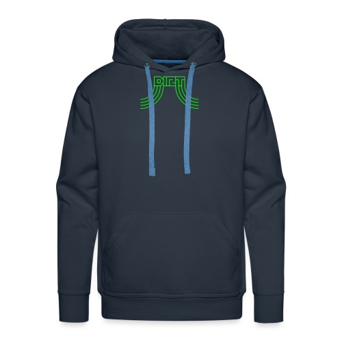DIRT Logo - Männer Premium Hoodie