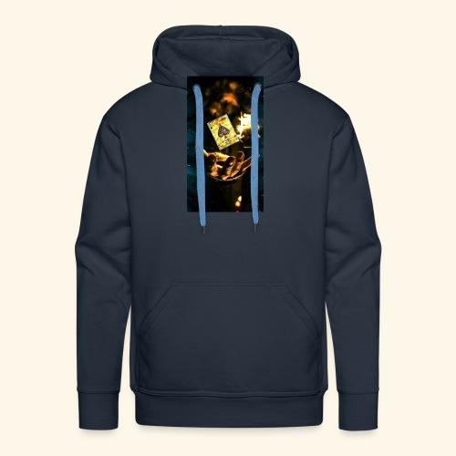 as - Sudadera con capucha premium para hombre
