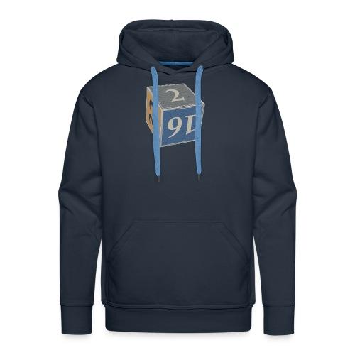 Backgammon Doubling Cube - Mannen Premium hoodie