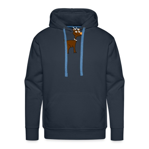 venado - Sudadera con capucha premium para hombre