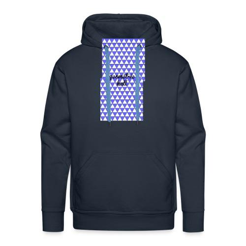coque pour 4s (geometric hull) - Sweat-shirt à capuche Premium pour hommes