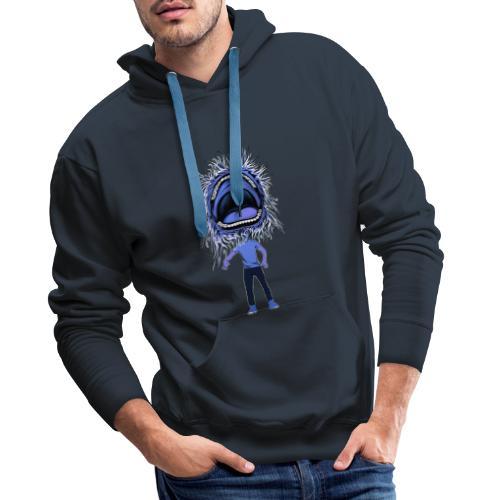 The dancing mouth - Sweat-shirt à capuche Premium pour hommes