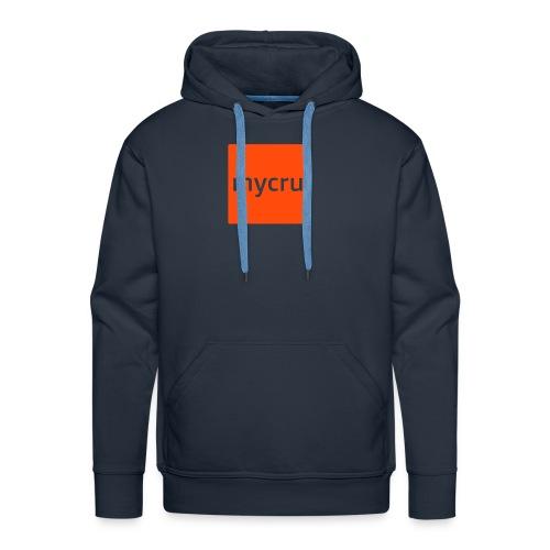 mycru logo - Men's Premium Hoodie