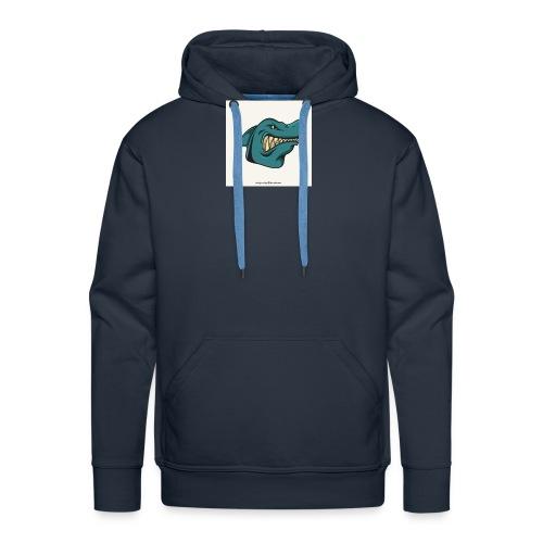 requin mascotte weelax - Sweat-shirt à capuche Premium pour hommes