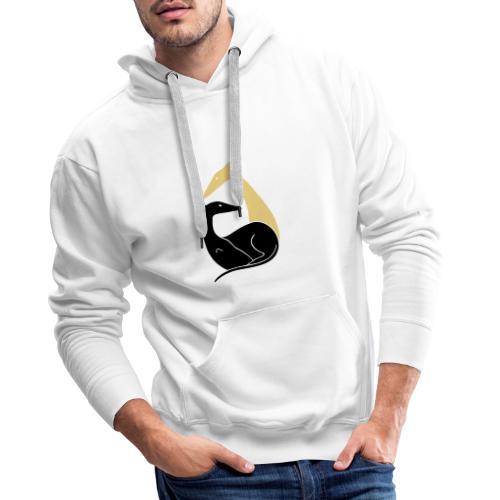 Windhundpaar - Männer Premium Hoodie
