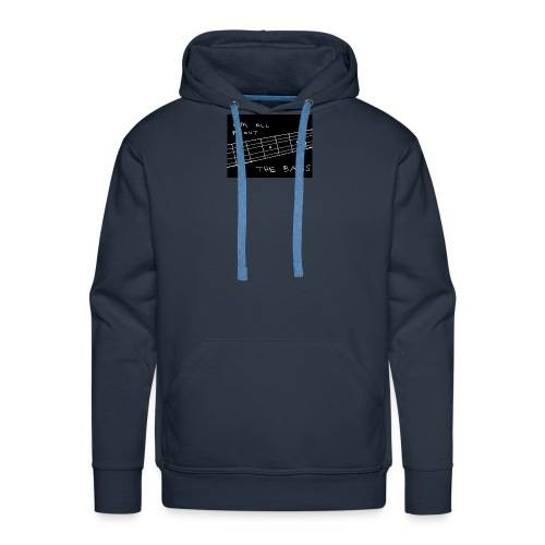I M ALL ABOUT THE BASS - Men's Premium Hoodie