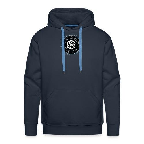 systema logo farbe rund spreadshirt - Männer Premium Hoodie
