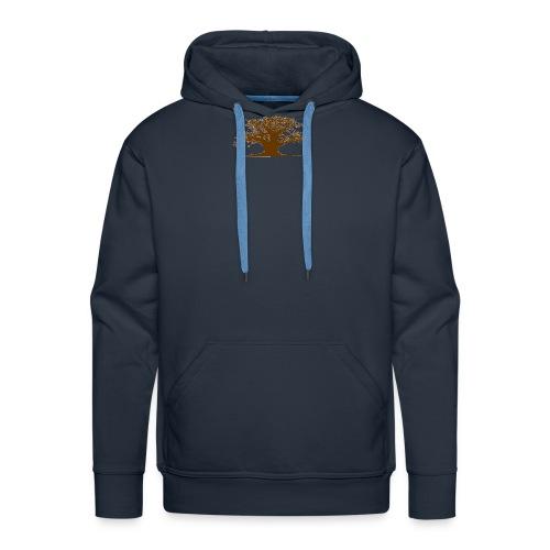 baobab gif - Sweat-shirt à capuche Premium pour hommes