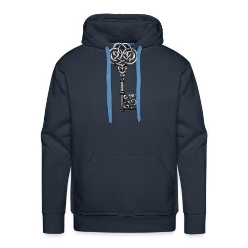 CHAVE-celtic-key-png - Sudadera con capucha premium para hombre