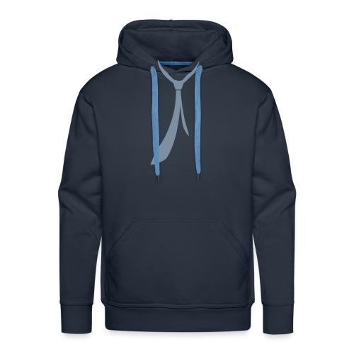 JUSTSOMEMOTION - Grey Tie - Männer Premium Hoodie