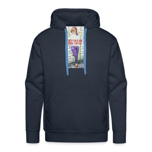 Rockabella Blue Jeans - Männer Premium Hoodie