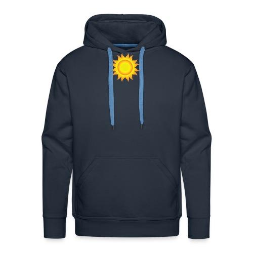 sol T-shirt - Herre Premium hættetrøje