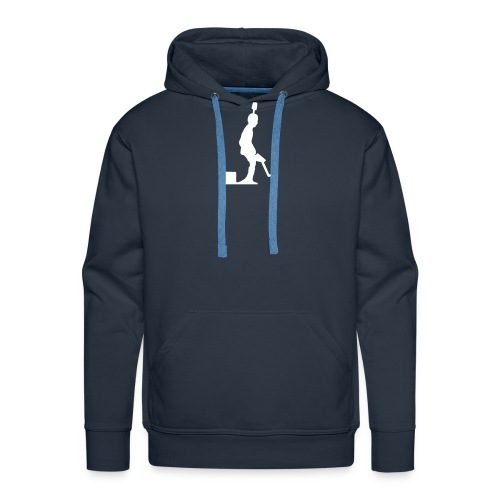 Pro Kicker (regular) + Nummer - Männer Premium Hoodie