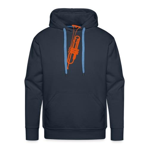 trompette instrument musique 2410 - Sweat-shirt à capuche Premium pour hommes