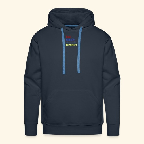 Eat Sleep Lift Repeat Sport gym fitness Shirt - Männer Premium Hoodie