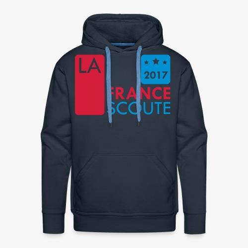 La France Scoute - 2017 - Sweat-shirt à capuche Premium pour hommes
