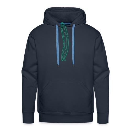 Green Cucumber Vertical - Men's Premium Hoodie