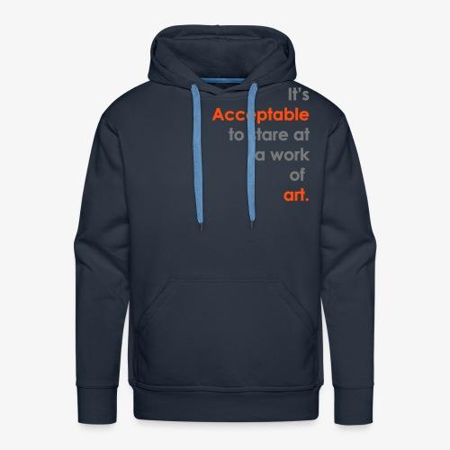itsacceptable - Men's Premium Hoodie