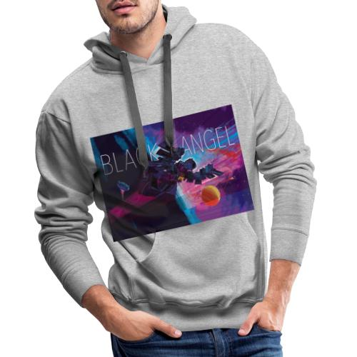 BLACK ANGEL COVER ART - Sweat-shirt à capuche Premium pour hommes