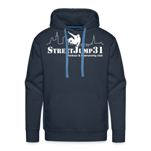 StreetJump31 - Parkour & Freerunning Club - Sweat-shirt à capuche Premium pour hommes