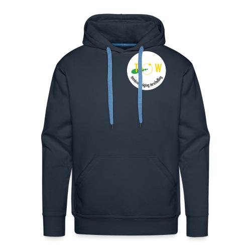 tow rond - Mannen Premium hoodie