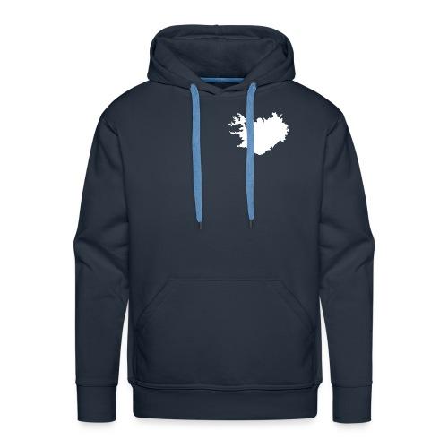 iceland - Herre Premium hættetrøje