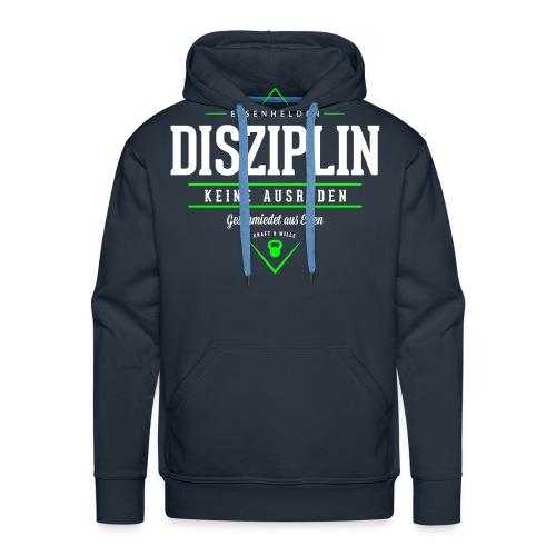 Disziplin - Männer Premium Hoodie