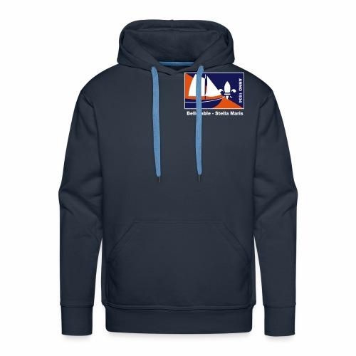 Woord Uniform - Achterkan - Mannen Premium hoodie