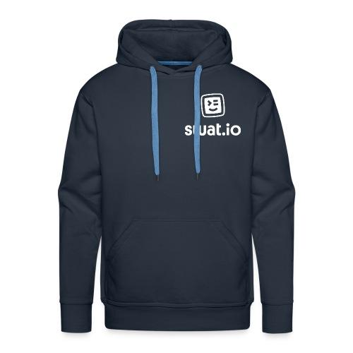 Swatio Logo L Hochformat Empty Filling tilted - Männer Premium Hoodie