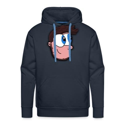 JAVOI Face logo - Men's Premium Hoodie