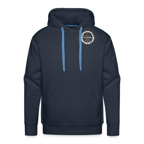 logo toile - Sweat-shirt à capuche Premium pour hommes