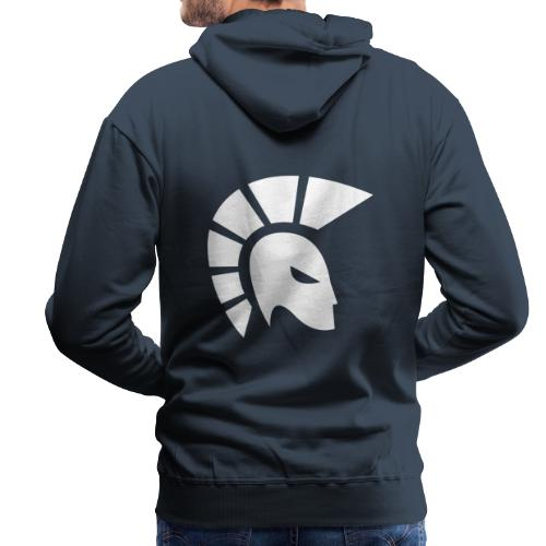 centurion racing icon White - Men's Premium Hoodie